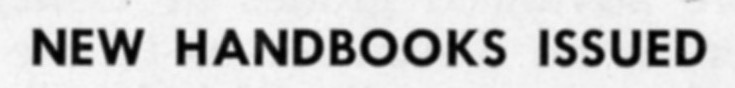 ""\""""New Handbooks Issued"""" in The Match, November 1958""735|88|?|en|2|400527db06c4680bad48635d0cbedb79|False|UNLIKELY|0.28954508900642395