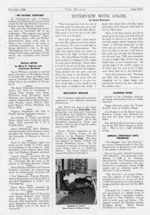The Match, December 1958, p. 3