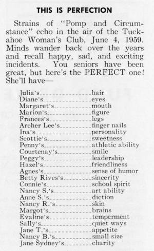 """""""This Is Perfection"""" in The Match, May 1959"""