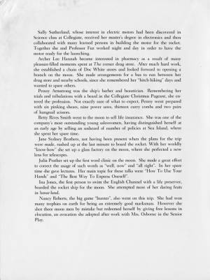 """""""The Collegiate School, Class of 1959"""" Prophecy and Last Will and Testament, 1959, p. 3"""