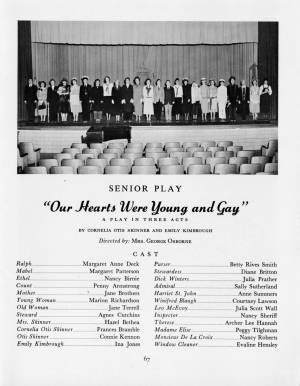 """""""Our Hearts Were Young and Gay"""" from the 1959 Torch, p. 67"""