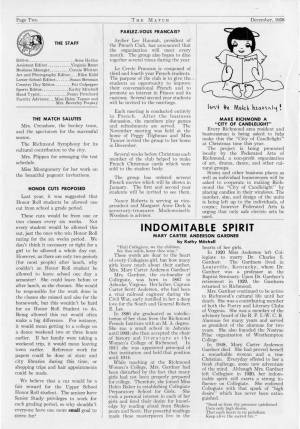 The Match, December 1958, p. 2
