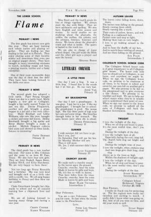 The Match, November 1958, p. 5