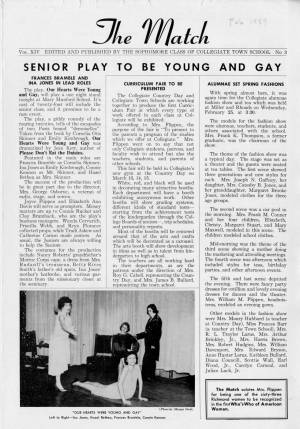 The Match, February 1959, p. 1
