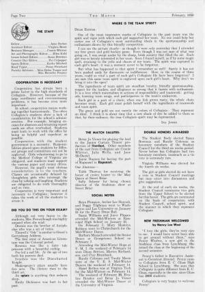 The Match, February 1959, p. 2